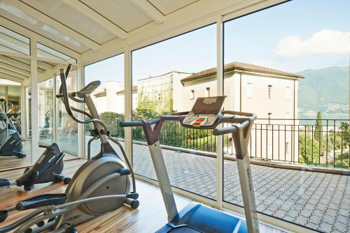 The fitness center and/or fitness facilities at Hotel Belvedere Locarno