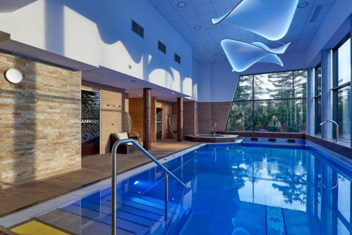 The swimming pool at or close to Mercure Bale Mulhouse Aeroport