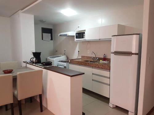 A cozinha ou cozinha compacta de Rosa Branca Facilities Apartamentos