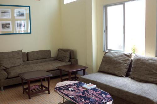 Ein Sitzbereich in der Unterkunft D's Corner & Guesthouse