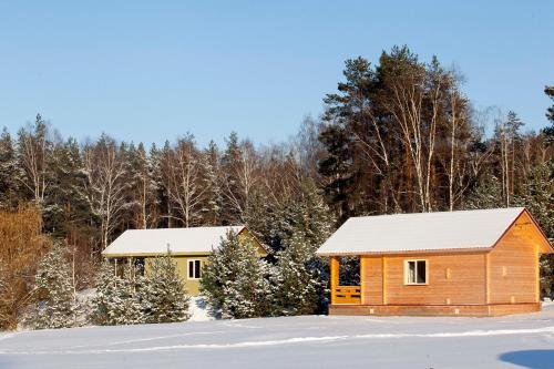 База Отдыха Березовый Мостик зимой