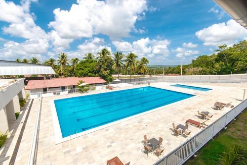 The swimming pool at or near Sesi Parque da Mata