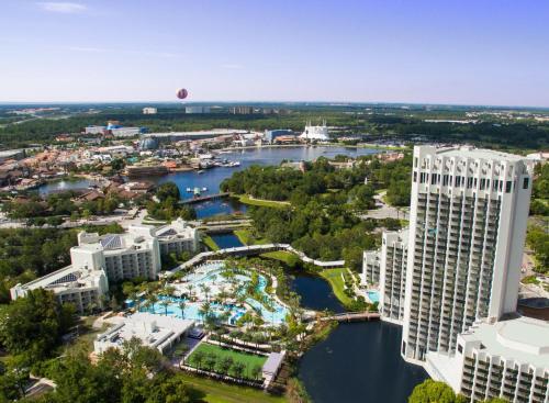 A bird's-eye view of Hilton Orlando Buena Vista Palace - Disney Springs Area