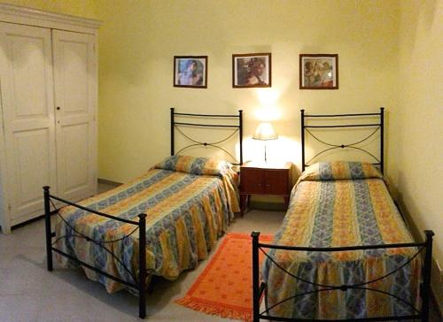 A bed or beds in a room at Leucosia
