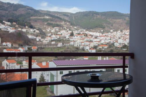 A balcony or terrace at Hotel Vale do Zezere