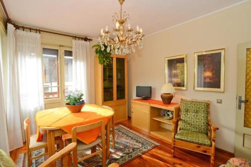 A seating area at Casa Compagnoni