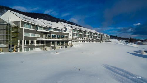 Ustedalen Hotel Geilo during the winter