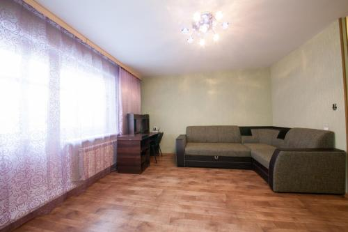 Гостиная зона в Apartamenty na Vesny