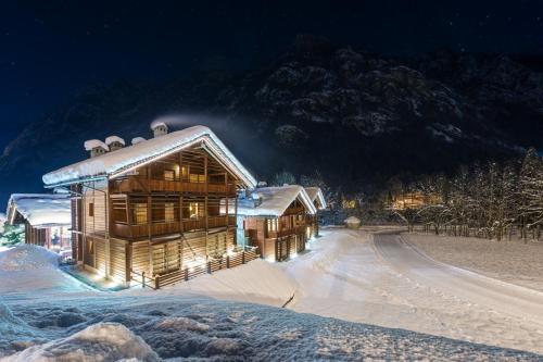 Pietre Gemelle Resort during the winter