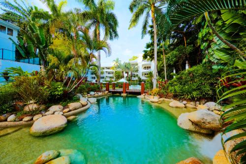 The swimming pool at or near Alamanda Palm Cove by Lancemore
