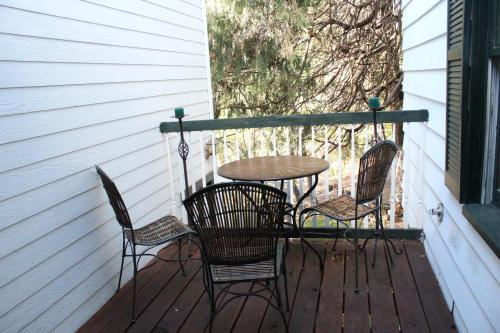 A balcony or terrace at GlenMorey Country House