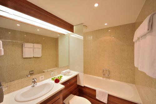 A bathroom at Bad Eptingen