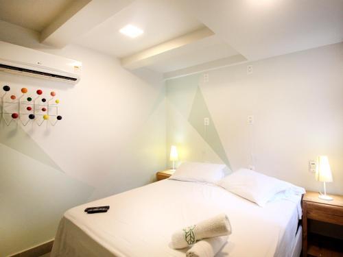 Cama ou camas em um quarto em El Misti Hostel Ipanema