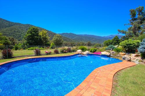 The swimming pool at or near Wombat Hollow