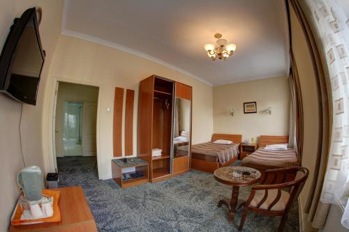 Zona de estar de Voyage Hotel