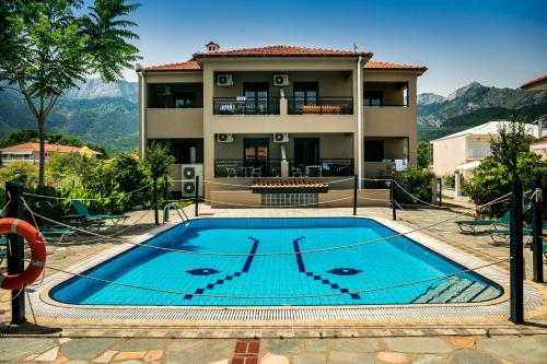 Πισίνα στο ή κοντά στο Green Sea Apartments