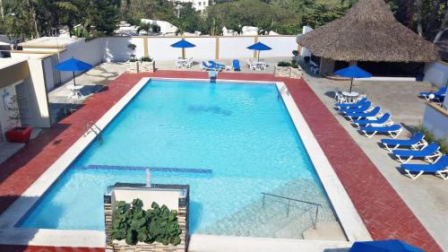 A view of the pool at Matum Hotel & Casino or nearby