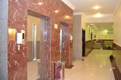 Um banheiro em Fakhamet Al Taif 1 Hotel Apartments