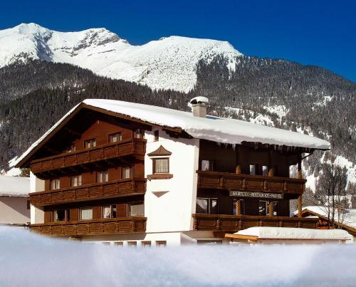 Sporthotel Pechtl during the winter
