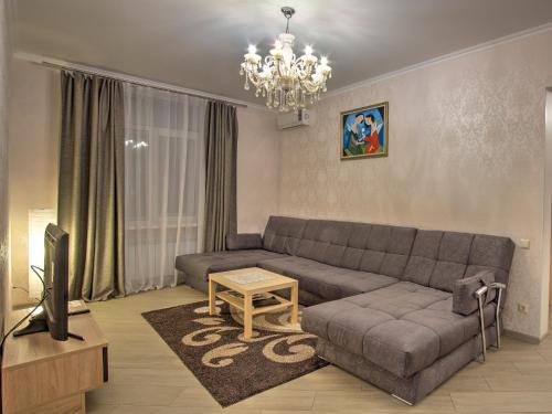 Гостиная зона в Apartment Kutuzoff Metro Kievskaya