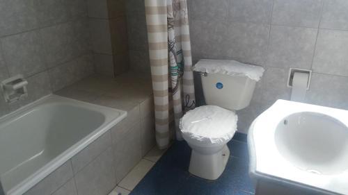 Un baño de Hotel Feudal