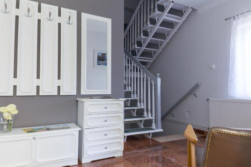 A kitchen or kitchenette at Zita Haus