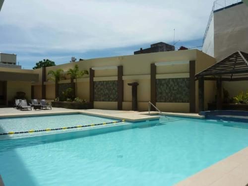 The swimming pool at or near Circle Inn - Iloilo City Center