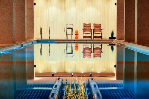 The swimming pool at or near Lucky Bansko Aparthotel SPA & Relax