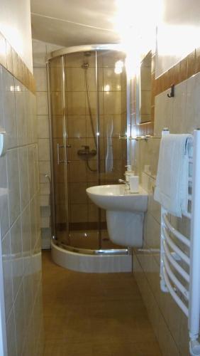 Łazienka w obiekcie Villa Basia