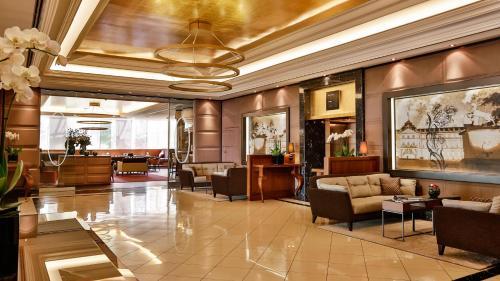 منطقة الاستقبال أو اللوبي في فندق ألتهوف أم شلوسغارتن