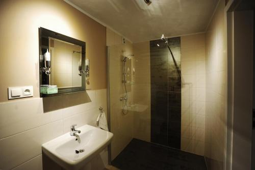Łazienka w obiekcie Hostel Centrum