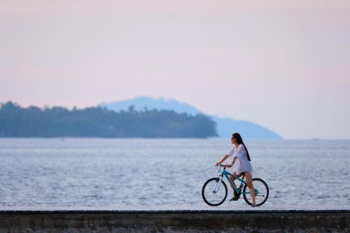 Biking at or in the surroundings of Grand Luley Manado