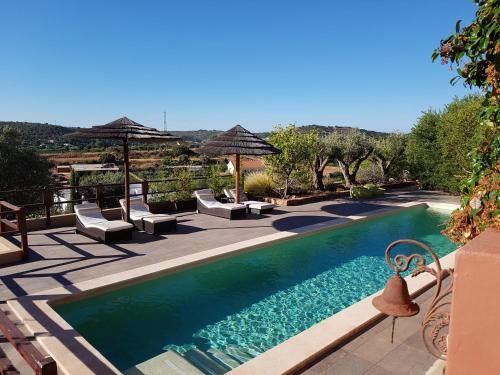 The swimming pool at or near Gato Preto de Silves - Adults Only
