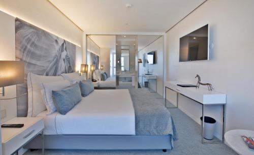 A seating area at Hotel White Lisboa
