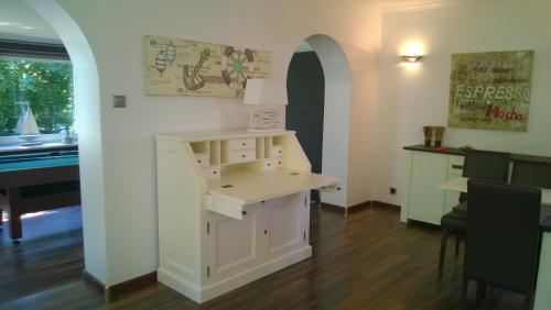 Küche/Küchenzeile in der Unterkunft Ferienhaus Nadja