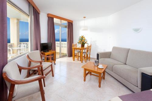 Zona de estar de Hotel Panoramica Garden
