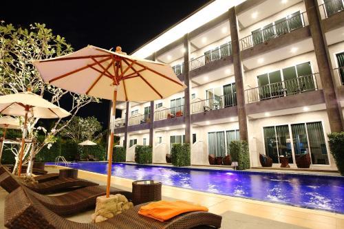 The swimming pool at or close to The Malika Hotel - SHA Plus