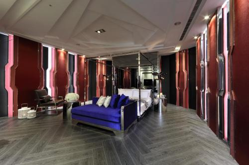The fitness center and/or fitness facilities at Taichung Ease Motel