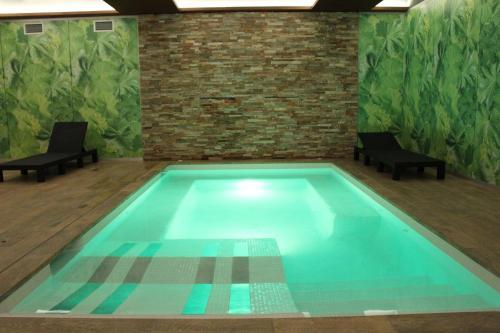 The swimming pool at or near Hotel Vilobi