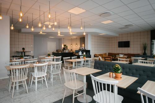 En restaurang eller annat matställe på Hotell Fyrislund