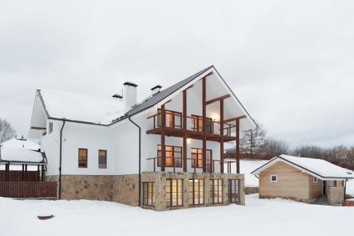 Guest house Babinov during the winter