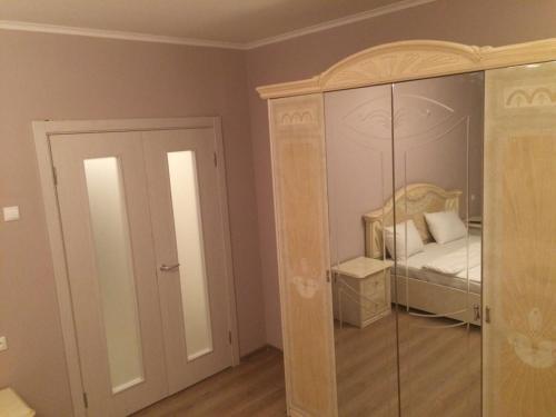 Ванная комната в Apartments on Rodionova street
