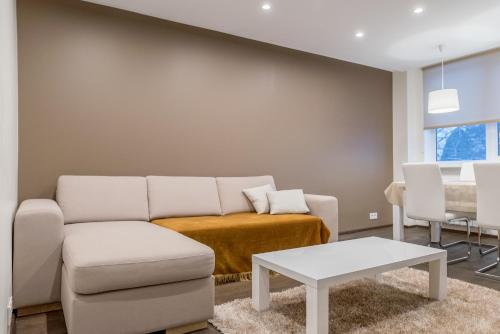 Istumisnurk majutusasutuses Marja Apartment