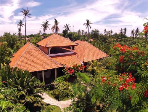 A bird's-eye view of Hibiscus House Pemuteran Bali