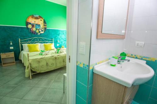 Bagno di L'angolo di Laura Comfortable Rooms