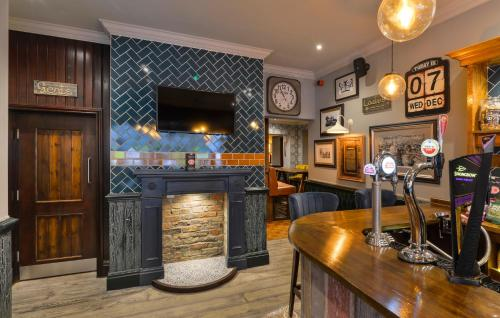 The lounge or bar area at The Bootham Tavern - York