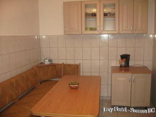 A kitchen or kitchenette at Lary Hostel
