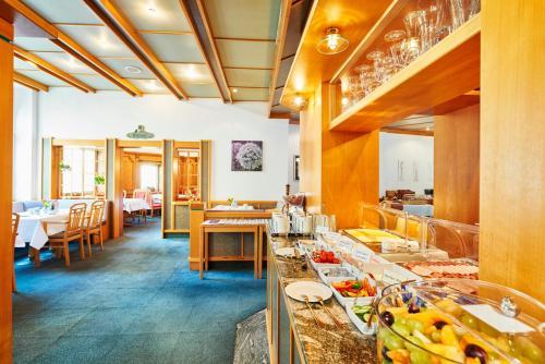 Ein Restaurant oder anderes Speiselokal in der Unterkunft Brita Hotel Stuttgart