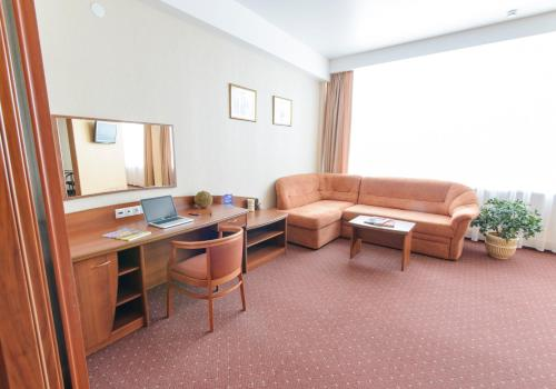 Гостиная зона в Апарт-отель