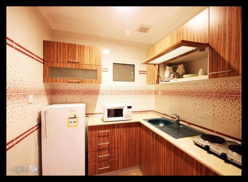 مطبخ أو مطبخ صغير في ترف ينبع
